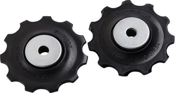 Shimano Schakel-/ derailleurwielenset voor RD-M593 zwart/zilver